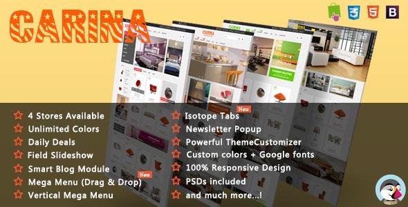 Carina - Luxury Furniture Responsive PrestaShop Theme - Shopping PrestaShop