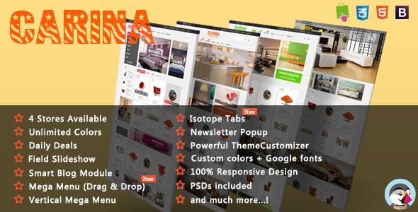 Carina - Luxury Furniture Responsive PrestaShop Theme