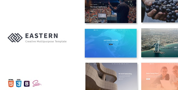 Eastern - Creative Multipurpose Template - Site Templates