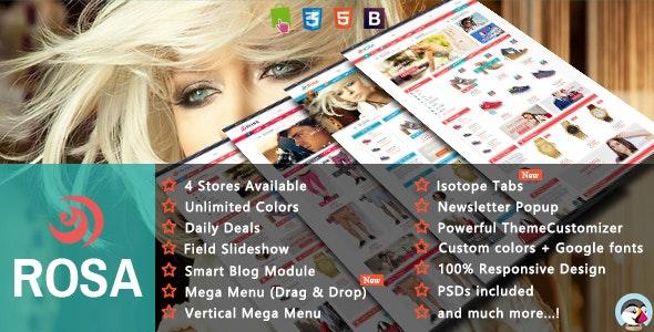 Rosa - Shopping Sport & Accessories Responsive PrestaShop Theme - Shopping PrestaShop