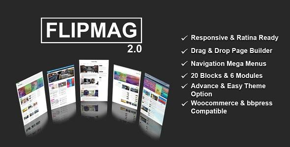 Flip Mag - Viral WordPress News Magazine/Blog Theme - News / Editorial Blog / Magazine