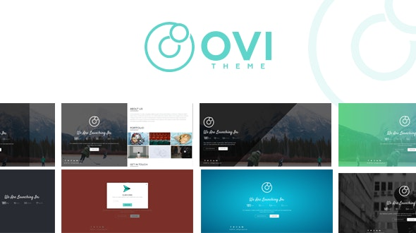 Ovi - Creative Coming Soon Template - Under Construction Specialty Pages