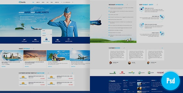 Exactly Psd Template - Travel Retail