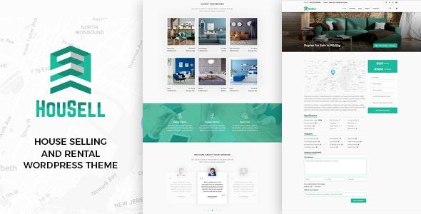 Housell - Modern Real Estate WordPress Theme - Real Estate WordPress