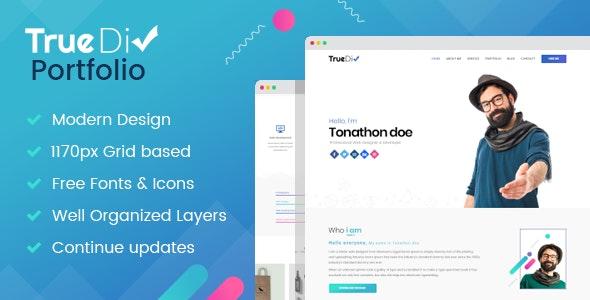 TrueDiv Portfolio - Portfolio Creative