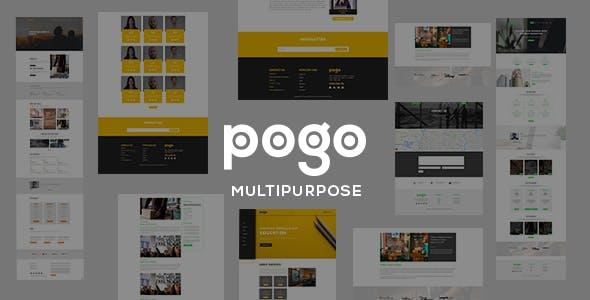 pogo - Multipurpose Responsive Template