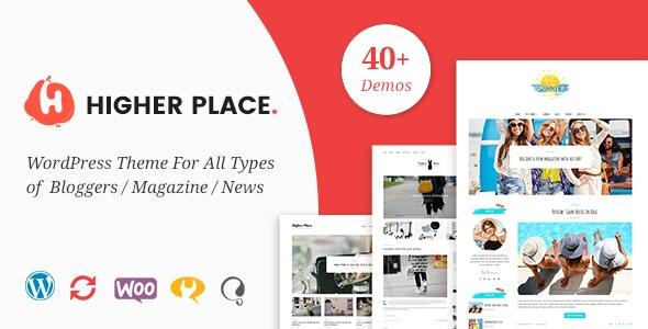 Higher Place - Blog & Magazine WordPress Theme - Blog / Magazine WordPress