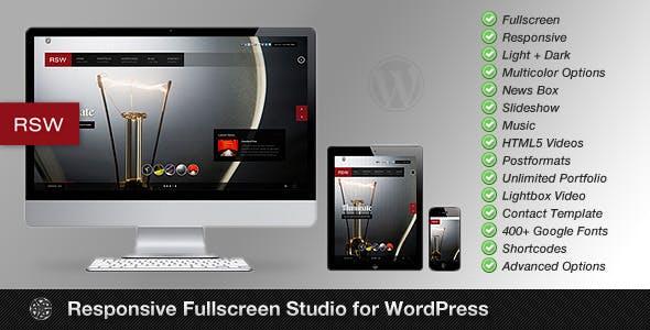 Rsw | Photography Theme for WordPress