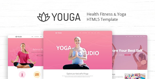 Youga - Yoga Studio HTML5 Template - Health & Beauty Retail