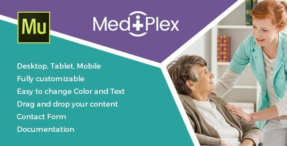 Mediplex - Medical & Health Muse Template - Creative Muse Templates