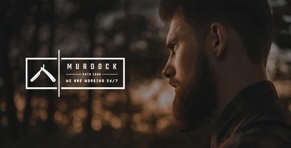 Murdock - Barbershop & Hair Salon WordPress Theme - Business Corporate