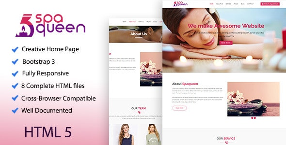 Spaqueen - Health & Beauty Template - Health & Beauty Retail