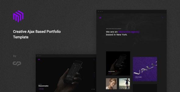 Cubez - Modern Portfolio Showcase Template - Creative Site Templates