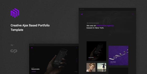 Cubez - Modern Portfolio Showcase Template