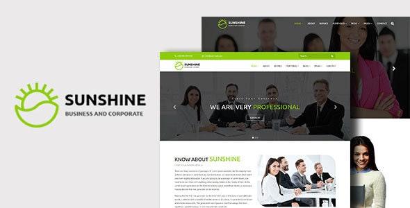 Sunshine - Best Corporate & Business WordPress Theme - Corporate WordPress