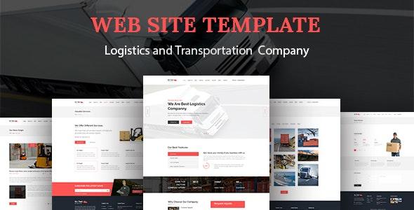 Go Fast-Transport & Logistics HTML Template - Corporate Site Templates