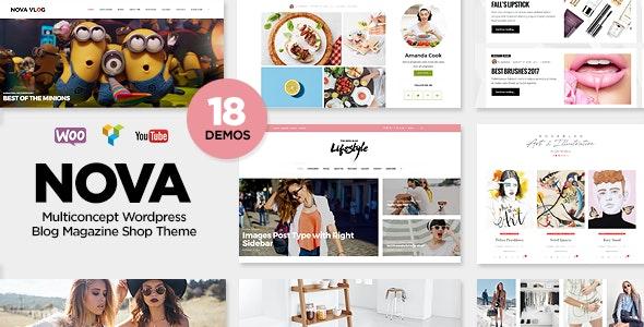 Nova - Multi-Concept Blog / Magazine WordPress Theme - Personal Blog / Magazine