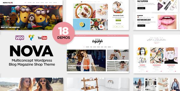 NovaBlog - Multi-Concept Blog / Magazine WordPress Theme - Personal Blog / Magazine