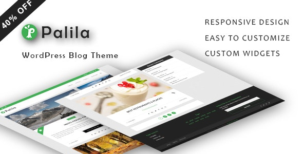 Palila - WordPress Blog Theme - Blog / Magazine WordPress