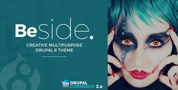 Beside Creative Multipurpose Drupal 8.7 Theme