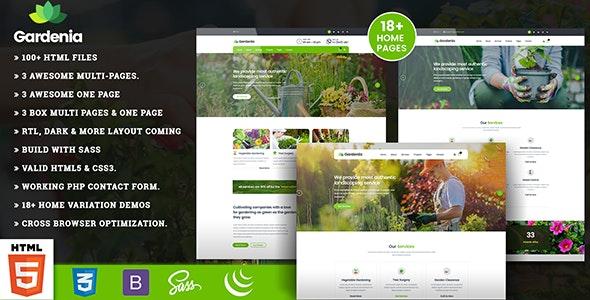 Gardenia - Landscaping Gardening - Business Corporate