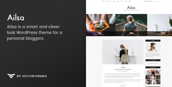 Ailsa - Personal Blog WordPress Theme