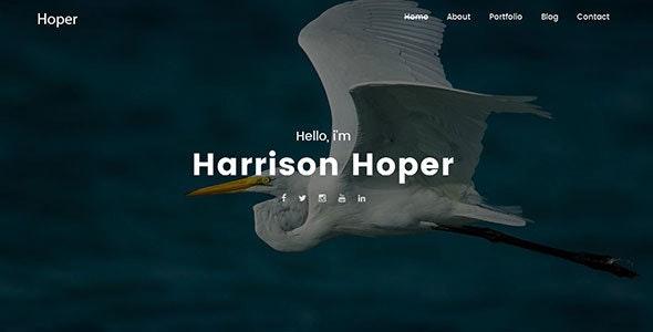 Hoper – Creative Portfolio WordPress Theme - Creative WordPress