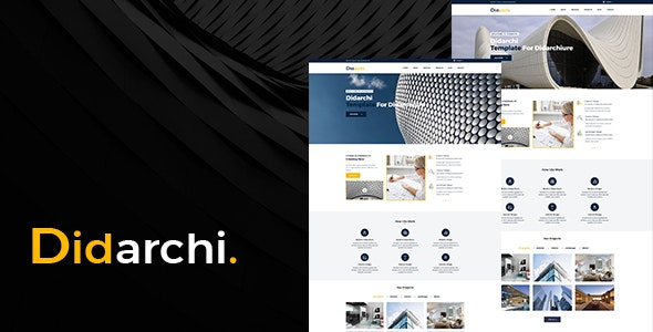 Didarchi - Architecture and Business HTML Template - Business Corporate