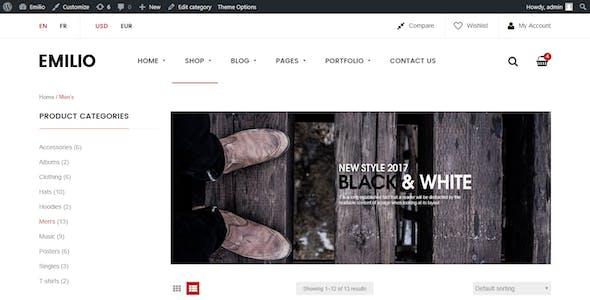 Emilio - Multipurpose Premium Responsive WordPress Theme