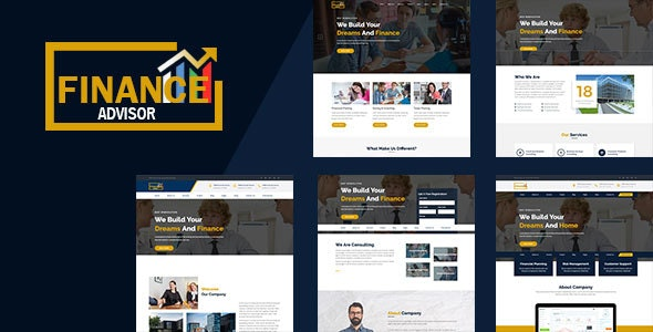 Finance - Corporate and Business HTML Template - Corporate Site Templates
