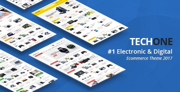 TechOne - Premium OpenCart Theme - OpenCart eCommerce