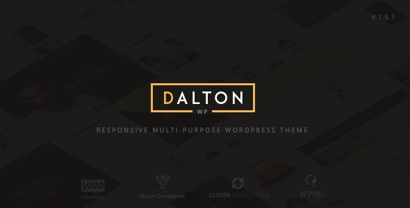 Dalton - Clean Multi-Purpose WordPress Theme - Creative WordPress