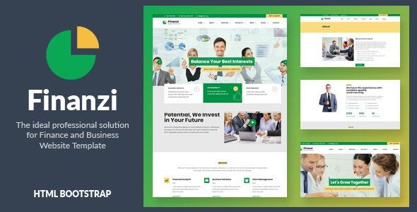 Finanzi - Finance and Business HTML Template - Business Corporate
