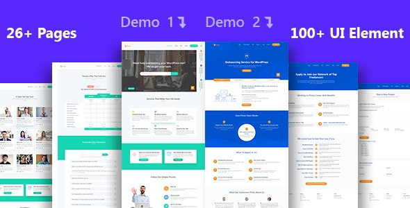 Prime - Multi-Purpose Business Services Sketch Template - Sketch UI Templates