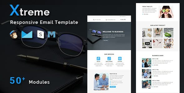 Xtreme - Multipurpose Responsive Email Template