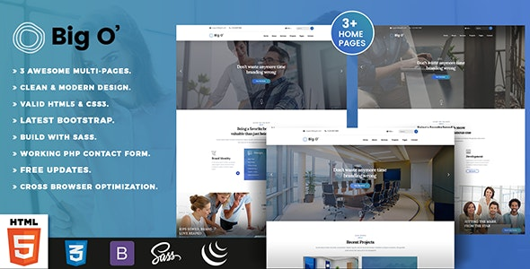 Bigo - Digital Agency - Technology Site Templates