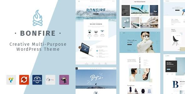 Bonfire - Creative Multipurpose WordPress Theme - Creative WordPress