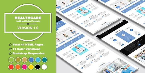 HEALTHCARE - Health and Medical Template - Health & Beauty Retail