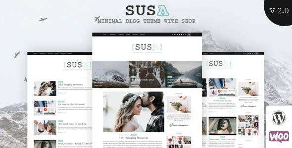 Susa - Responsive WordPress Blog Theme
