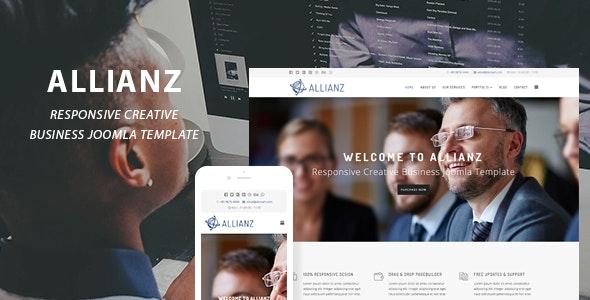 Allianz | Creative Business Joomla Template - Creative Joomla