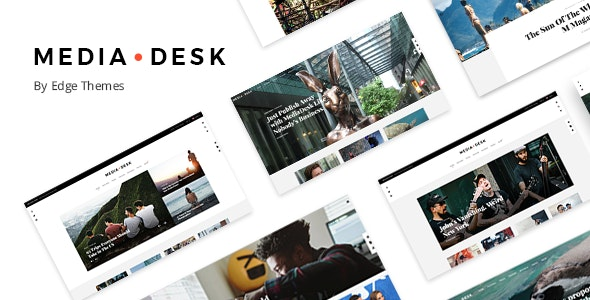 MediaDesk - Magazine WordPress Theme - News / Editorial Blog / Magazine