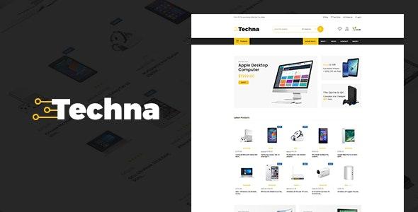 Techna - Electronics Shop WooCommerce Theme - WooCommerce eCommerce