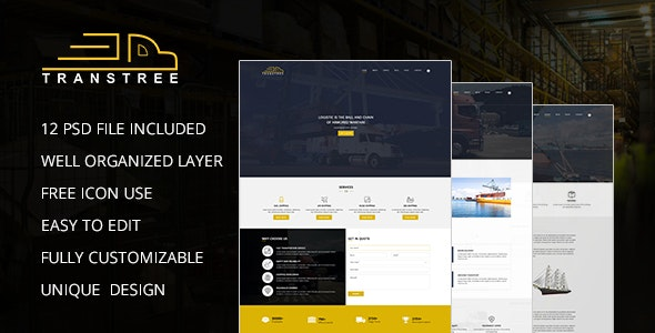 TransTree PSD template - Business Corporate