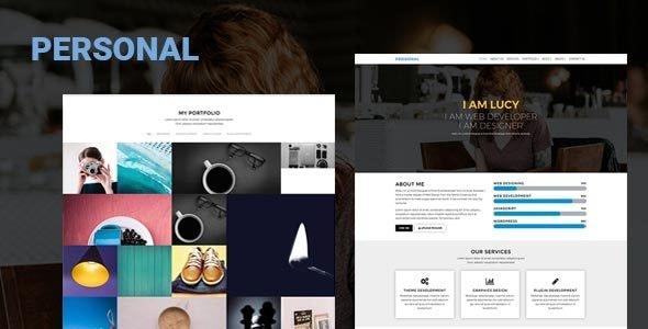 Personal Portfolio - Personal Site Templates