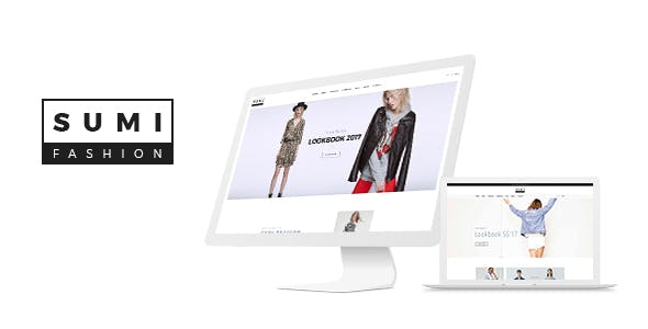 Sumi -  Fashion Ecommerce PSD Template