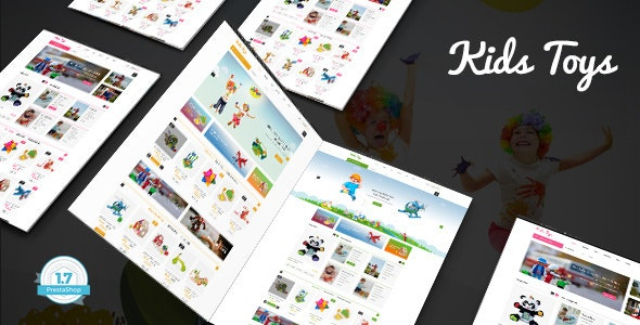 Kids Toys - Baby Store PrestaShop 1.7 Theme - Shopping PrestaShop