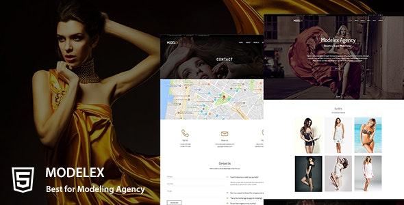 Modelex a Model Agency HTML Template - Fashion Retail
