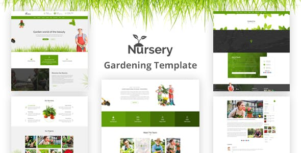 Plant Nursery Html Website Templates From Themeforest