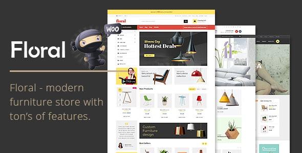 Floral - Furniture Store WooCommerce WordPress Theme - WooCommerce eCommerce