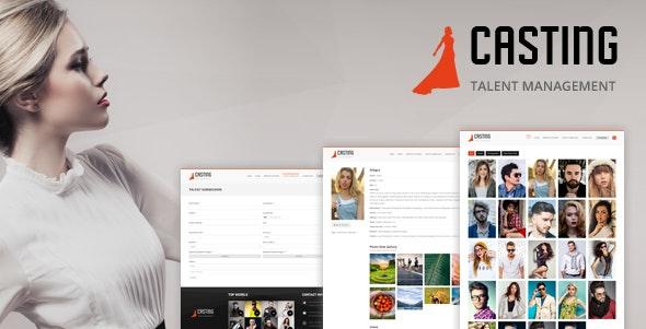 Casting -  Modeling & Talent Agency WordPress Theme - Fashion Retail